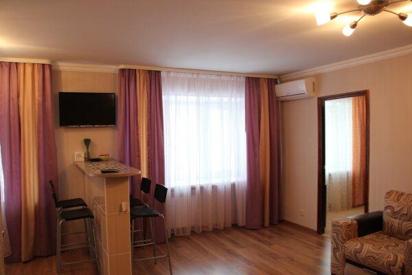 2-комн. квартира, 48 кв.м. на 5 человек, улица Зегеля, 23, Правобережный район, Липецк - Фотография 1