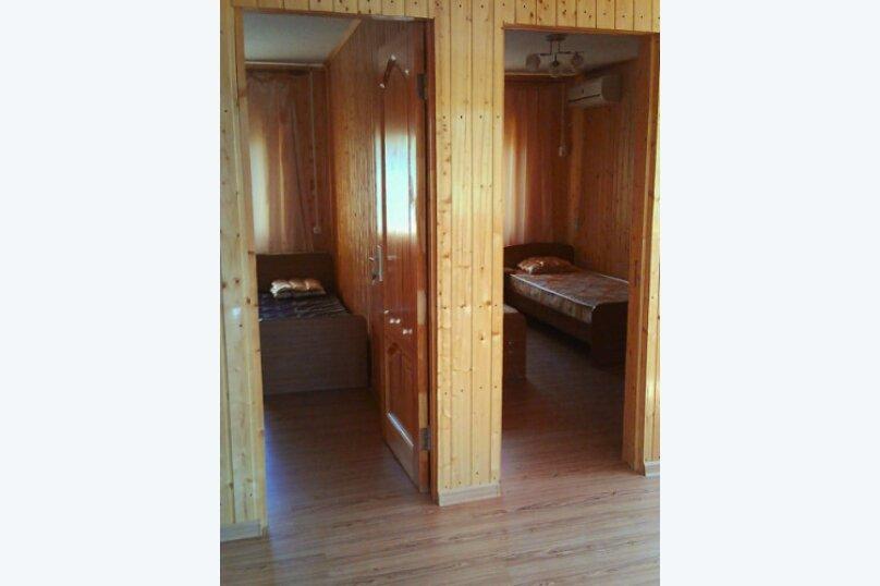 Деревянный коттедж №1, 37 кв.м. на 4 человека, 2 спальни, Приморская улица, 42, Благовещенская - Фотография 14