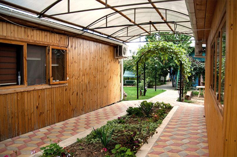 Деревянный коттедж №1, 37 кв.м. на 4 человека, 2 спальни, Приморская улица, 42, Благовещенская - Фотография 18