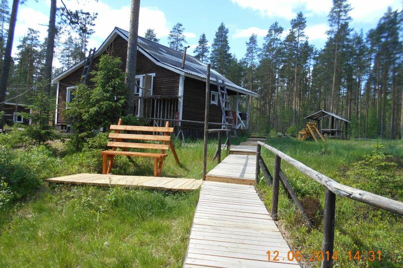 Лесной дом, 52 кв.м. на 6 человек, 2 спальни, Шуясалми, -, Петрозаводск - Фотография 20