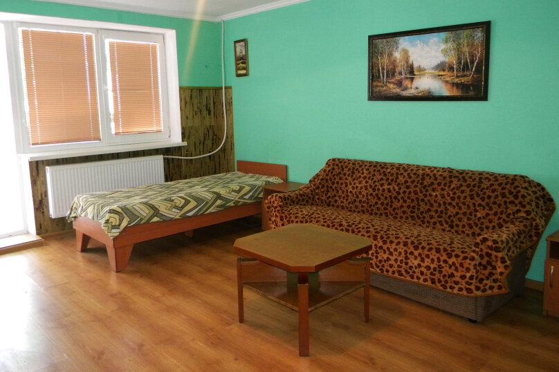 Номер  с кухней под ключ на 4 чел., 45 кв.м. на 4 человека, 1 спальня, Приморская улица, 12, Черноморское - Фотография 6
