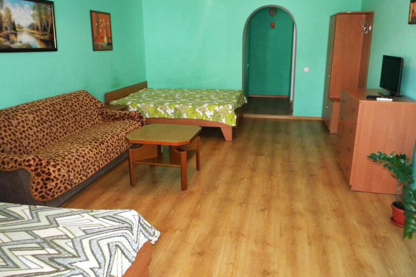 Номер  с кухней под ключ на 4 чел., 45 кв.м. на 4 человека, 1 спальня, Приморская улица, 12, Черноморское - Фотография 7