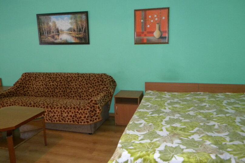 Номер  с кухней под ключ на 4 чел., 45 кв.м. на 4 человека, 1 спальня, Приморская улица, 12, Черноморское - Фотография 9