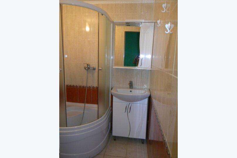Номер  с кухней под ключ на 4 чел., 45 кв.м. на 4 человека, 1 спальня, Приморская улица, 12, Черноморское - Фотография 10