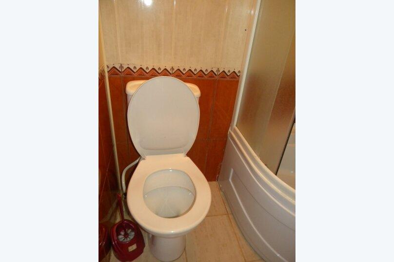Номер  с кухней под ключ на 4 чел., 45 кв.м. на 4 человека, 1 спальня, Приморская улица, 12, Черноморское - Фотография 11