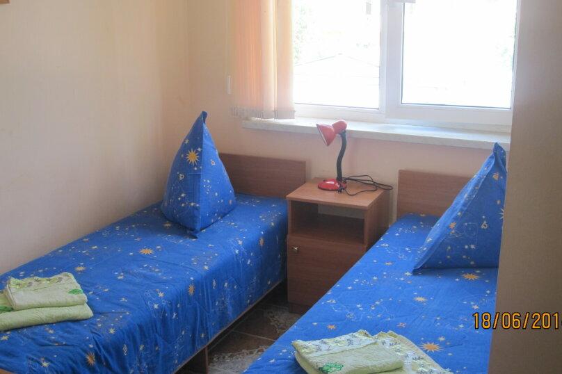 2-х местный стандарт(4) раздельные кровати, улица Победы, 181, Лазаревское - Фотография 1