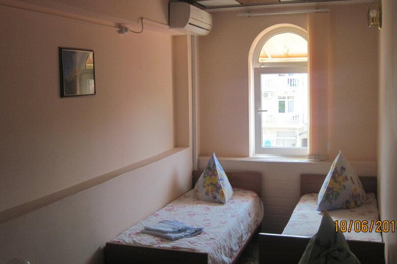 3-х местный номер стандарт(2,6) раздельные кровати, улица Победы, 181, Лазаревское - Фотография 1