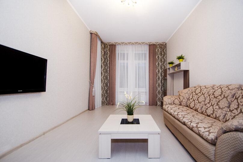 1-комн. квартира, 46 кв.м. на 4 человека, Оренбургский тракт, 24В, Казань - Фотография 1