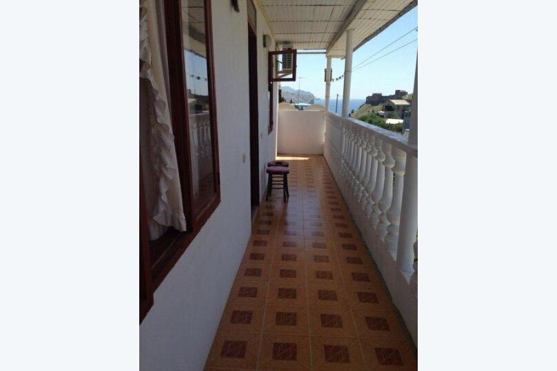 №4 стандарт с видом НА ГОры балкон 3-й этаж , улица Истрашкина, 7А, Судак - Фотография 1