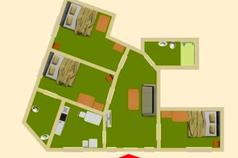 #Дом в Ялте с двориком, для семейного отдыха с детьми., улица Ломоносова, 51А на 2 комнаты - Фотография 3