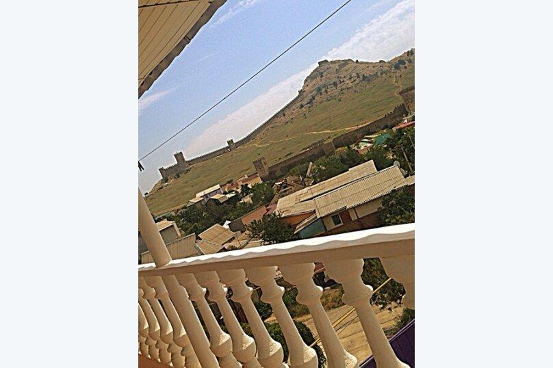 №7вид на море и крепость с балконом, улица Истрашкина, 7А, Судак - Фотография 1