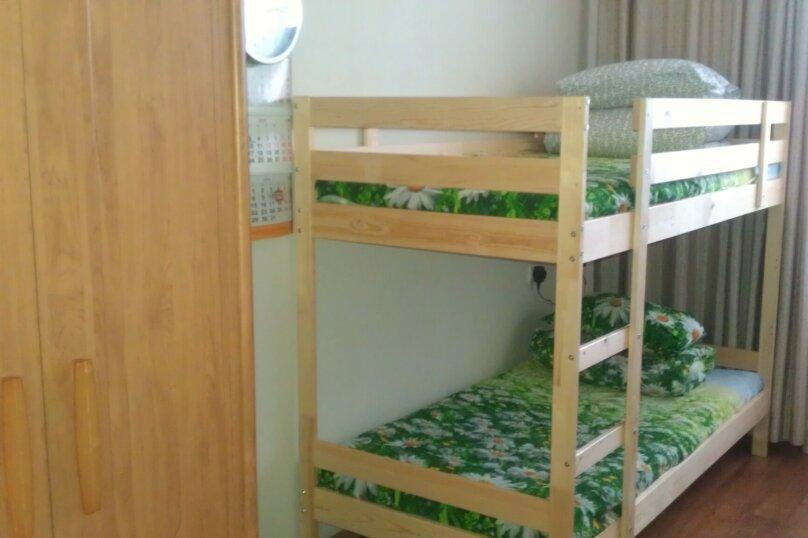 Кровать в 6-местном общем номере, Инская улица, 56, Речной вокзал, Новосибирск - Фотография 1