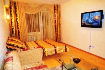 1-комн. квартира, 34 кв.м. на 3 человека, проспект Ермакова, 5, Центральный район, Новокузнецк - Фотография 1