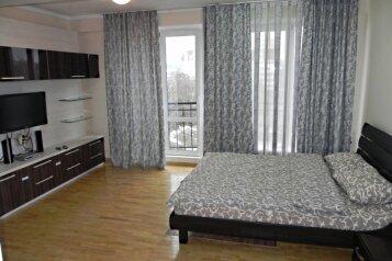 2-комн. квартира, 61 кв.м. на 4 человека, проспект Ермакова, 24, Центральный район, Новокузнецк - Фотография 1