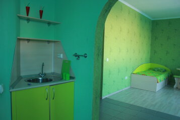 Зеленая комната:  Номер, Стандарт, 4-местный (3 основных + 1 доп), 1-комнатный, Гостевой дом, улица Степана Разина на 30 номеров - Фотография 3