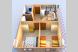 Деревянный коттедж №1, 37 кв.м. на 4 человека, 2 спальни, Приморская улица, 42, Благовещенская - Фотография 22