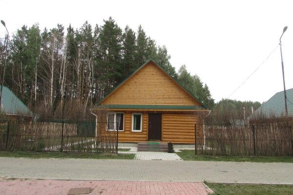 Средний коттедж, 80 кв.м. на 6 человек, 2 спальни, Челябинский тракт, 68 км от Екатеринбурга, 4,5,6, Сысерть - Фотография 1