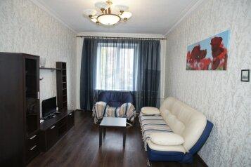 2-комн. квартира, 60 кв.м. на 4 человека, улица Пушкина, 70, Центральный район, Челябинск - Фотография 1