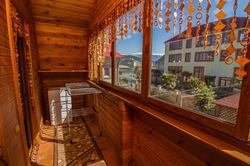 Частный дом, 70 кв.м. на 7 человек, 2 спальни, Общинная улица, 17, Адлер - Фотография 30