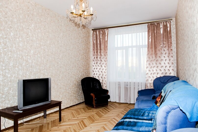 3-комн. квартира, 102 кв.м. на 8 человек, проспект Юрия Гагарина, 35, метро Московская, Санкт-Петербург - Фотография 13