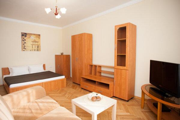 1-комн. квартира, 35 кв.м. на 4 человека, Скаковая улица, 4к2, метро Белорусская, Москва - Фотография 1