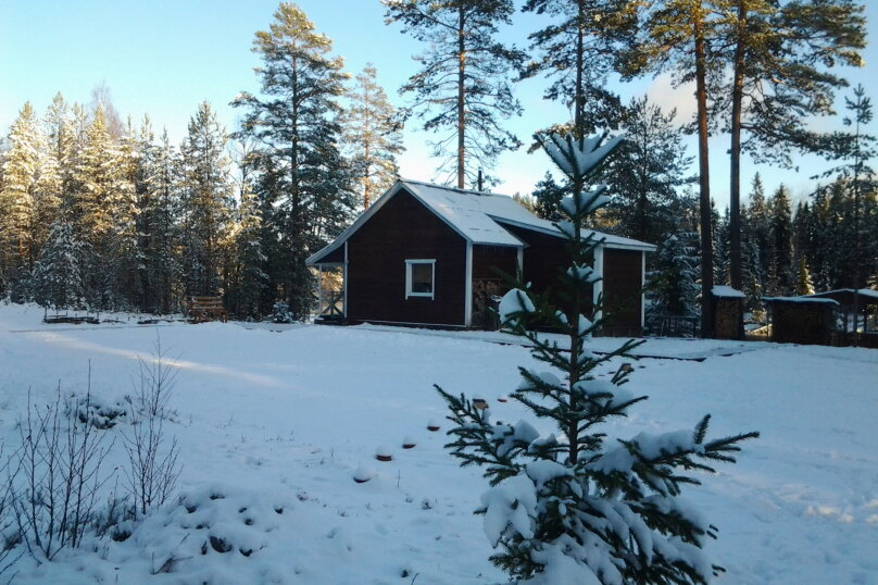 Лесной дом, 52 кв.м. на 6 человек, 2 спальни, Шуясалми, -, Петрозаводск - Фотография 21
