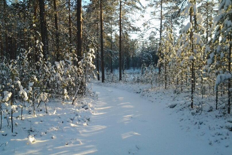 Лесной дом, 52 кв.м. на 6 человек, 2 спальни, Шуясалми, -, Петрозаводск - Фотография 25