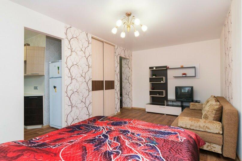 1-комн. квартира, 32 кв.м. на 4 человека, улица Луначарского, 78, Екатеринбург - Фотография 4