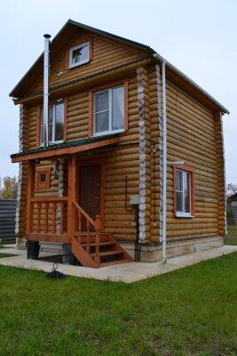 Коттедж, 100 кв.м. на 8 человек, 3 спальни, деревня Шерстнево, 10, Бор - Фотография 1