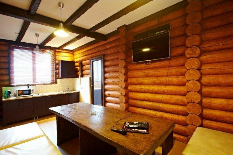 Новые деревянные дома, 140 кв.м. на 8 человек, 2 спальни, Красная улица, 1А, Уфа - Фотография 1