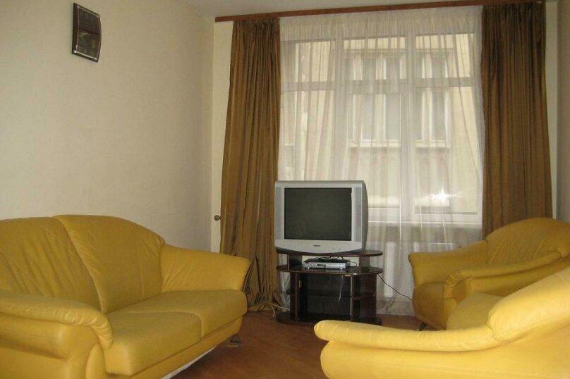 2-комн. квартира, 44 кв.м. на 2 человека, улица Чернышевского, 6, Иркутск - Фотография 2