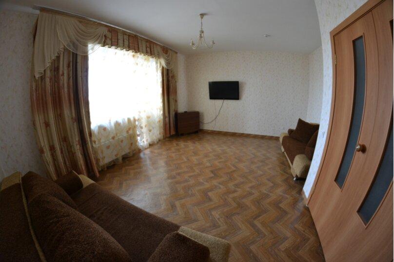 3-комн. квартира, 90 кв.м. на 4 человека, улица Алексеева, 89, Красноярск - Фотография 1