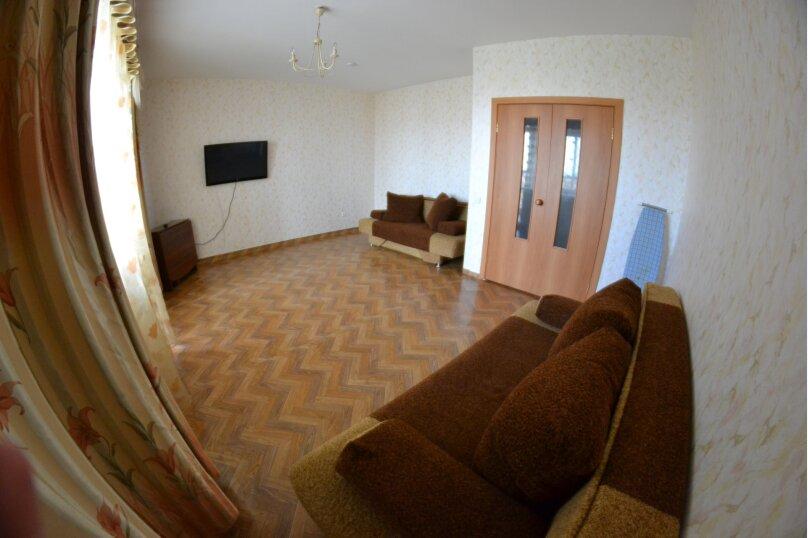 3-комн. квартира, 90 кв.м. на 4 человека, улица Алексеева, 89, Красноярск - Фотография 5