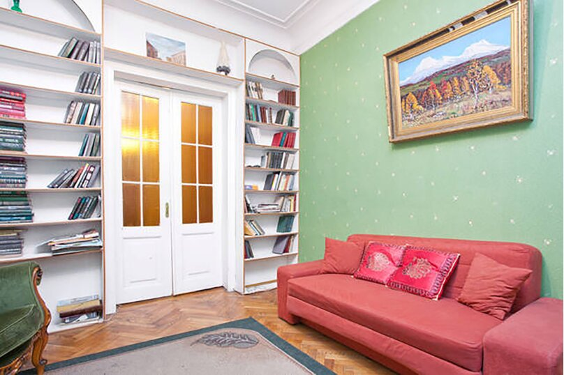 3-комн. квартира, 102 кв.м. на 4 человека, Невский проспект, 141, метро А.Hевского пл., Санкт-Петербург - Фотография 1