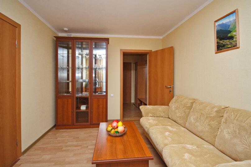Двухкомнатный двухместный люкс, улица Семашко, 37А, Лоо - Фотография 1