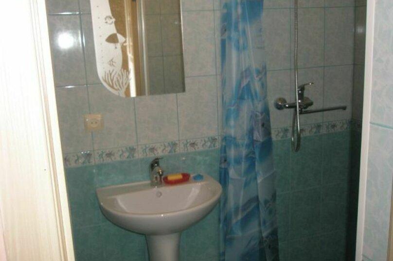 1-комн. квартира, 20 кв.м. на 4 человека, улица Колодяжного, 14А, Феодосия - Фотография 12