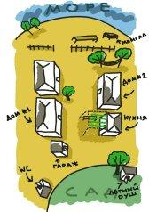 """Гостевой дом """"Фазенда Эльдорадо"""", Прямая улица, 10 на 2 комнаты - Фотография 1"""