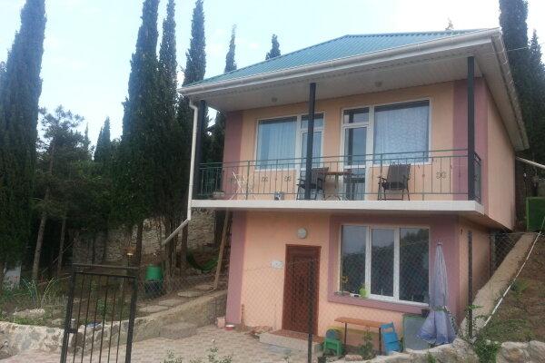 Сдам дом в кипарисовом лесу, 90 кв.м. на 5 человек, 2 спальни, Семидворье,мкр-н Дельфин,, 22а, Алушта - Фотография 1