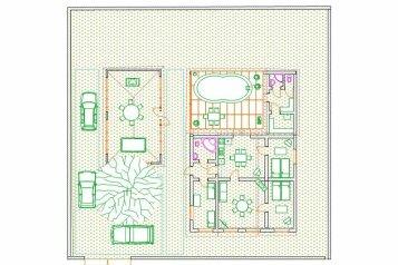 Гостевой дом, 120 кв.м. на 10 человек, 3 спальни, Космонавтов , Николаевка - Фотография 2