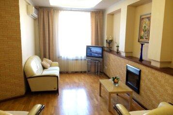 3-комн. квартира, 105 кв.м. на 6 человек, улица Тимирязева, 28, Центральный район, Челябинск - Фотография 1