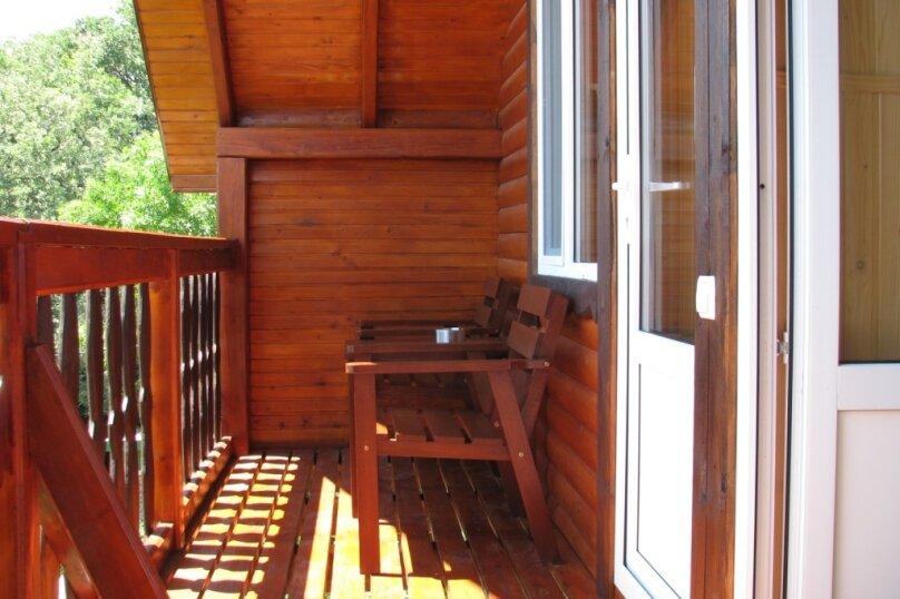 Деревянный дом, 60 кв.м. на 4 человека, 2 спальни, улица Терлецкого, 19, Форос - Фотография 21