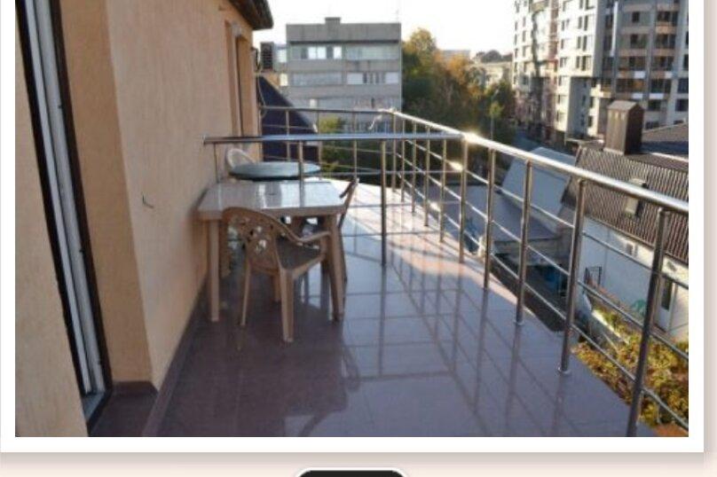 Люкс 4х  местный с балконом, Новороссийская улица, 296, Анапа - Фотография 2