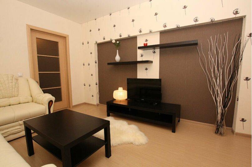 2-комн. квартира, 60 кв.м. на 5 человек, проспект Ленина, 38, Челябинск - Фотография 3