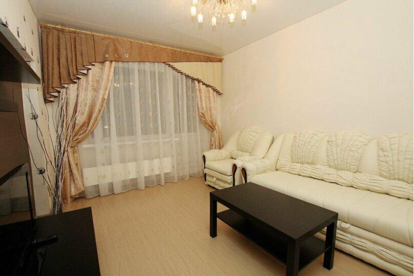 2-комн. квартира, 60 кв.м. на 5 человек, проспект Ленина, 38, Челябинск - Фотография 4