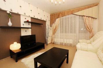 2-комн. квартира, 60 кв.м. на 5 человек, проспект Ленина, 38, Челябинск - Фотография 1