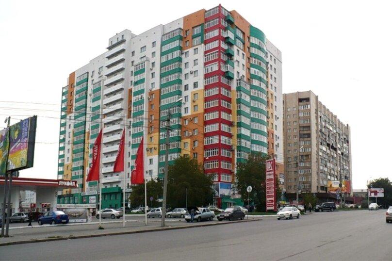 2-комн. квартира, 52 кв.м. на 4 человека, площадь МОПРа, 9, Челябинск - Фотография 15