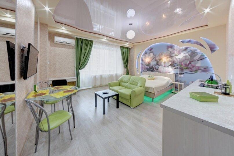 1-комн. квартира, 42 кв.м. на 3 человека, площадь МОПРа, 9, Челябинск - Фотография 4