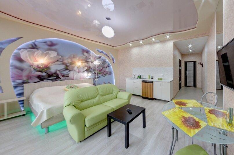 1-комн. квартира, 42 кв.м. на 3 человека, площадь МОПРа, 9, Челябинск - Фотография 5