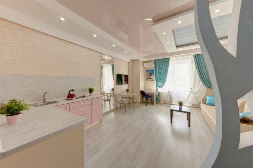1-комн. квартира, 28 кв.м. на 2 человека, площадь МОПРа, 9, Челябинск - Фотография 4