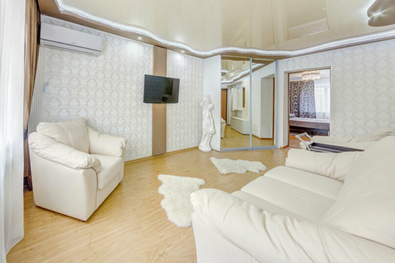 2-комн. квартира, 50 кв.м. на 3 человека, проспект Ленина, 21, Челябинск - Фотография 2